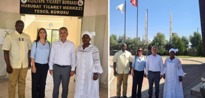 Kamerun ticaret heyeti hububat merkezini ziyaret etti