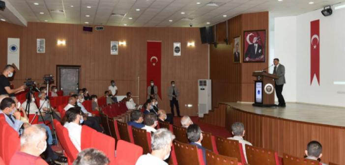 """""""Kamu-Üniversite-Sanayici İstişare Toplantısı"""" gerçekleştirildi"""