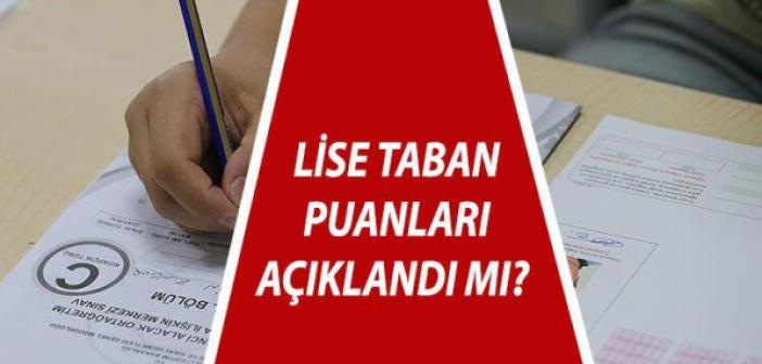 LGS Lise taban puanları 2021 açıklandı mı? 2021 LGS Anadolu, İmam Hatip, Fen Lisesi Taban puanları ve yüzdelik dilimleri! İşte 2021 LGS taban puanları!