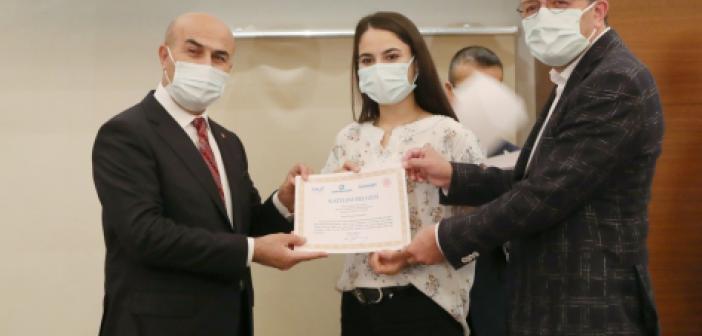 Mardin'de basın çalışanlarına sertifika töreni düzenlendi