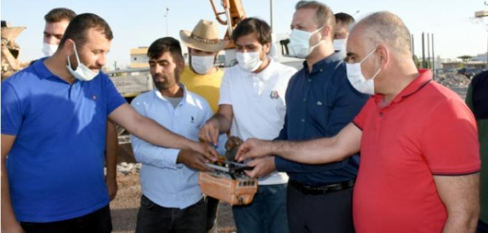 Nusaybin'de Oto Galericiler Sitesinin temeli atıldı