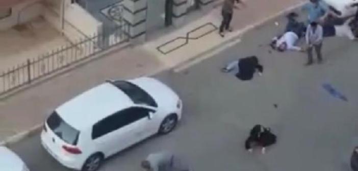 Silahla vurdu yaralıların üzerinden arabayla geçmeye çalıştı
