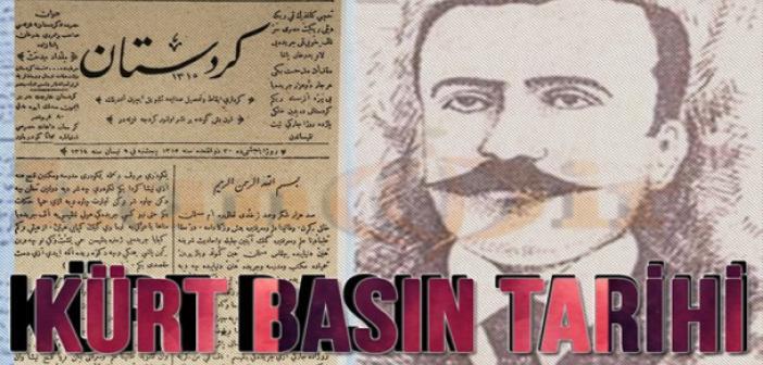 Tarihte İlk Kürt Gazetesi: Kürt Basın Tarihi