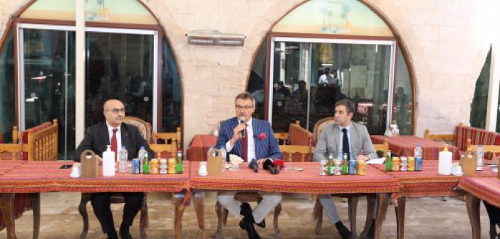 Tüzmen'den İş insanlarına 'Mardin'e yatırım yapın' çağrısı