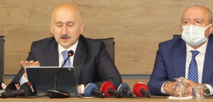 Ulaştırma Bakanı Mardin'de önemli açıklamalarda bulundu