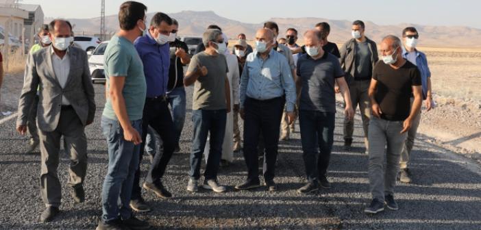Vali Demirtaş, Göllü-Gökçe-Ortaköy Grup Yolunda İncelemelerde Bulundu