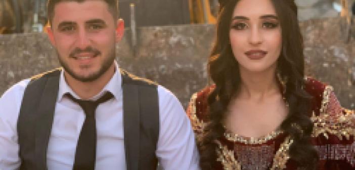 14 yaşında operatör olan damat, Kepçeli konvoyla evlendi