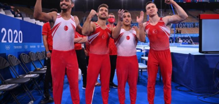 2020 Olimpiyatlarında Tokyo'da cimnastikte 7 final elde ettik