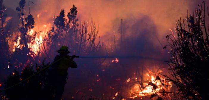 ABD'de yangın söndürme uçağı düştü: 2 ölü