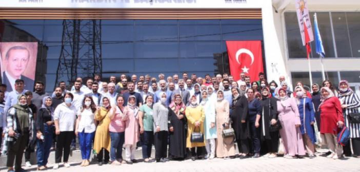 AK Parti Heyeti Mardin'de