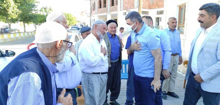 Ak Parti Mardin Teşkilatı Midyat'ı ziyaret etti