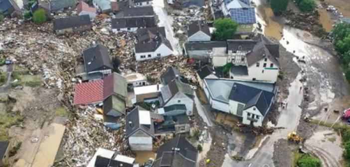 Almanya ve Belçika'daki sel felaketinde ölü sayısı 168'e yükseldi