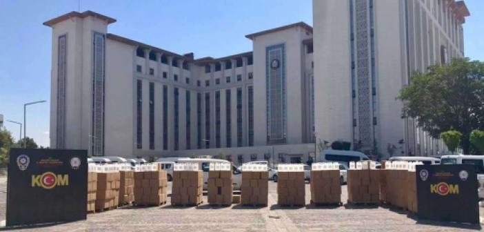 Ankara'da 12 bin litre etil alkol ele geçirildi