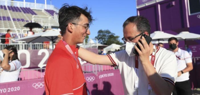 Cumhurbaşkanı Erdoğan'dan olimpiyat şampiyonu Mete Gazoz'a tebrik telefonu