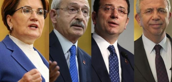 Cumhurbaşkanlığı seçimleri öncesi flaş gelişme! Kılıçdaroğlu, Akşener, İmamoğlu, Yavaş...