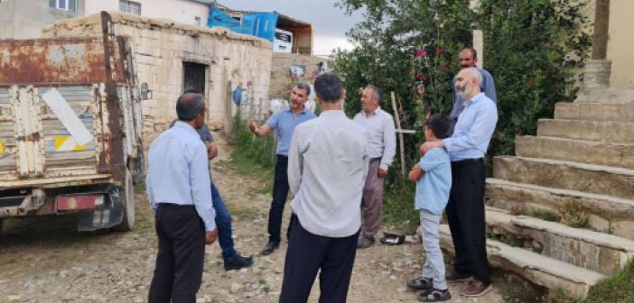 HÜDA PAR heyeti sel mağdurlarını ziyaret etti