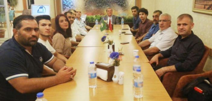 HÜDA PAR Midyat İlçe Başkanlığı gazetecilerle bir araya geldi