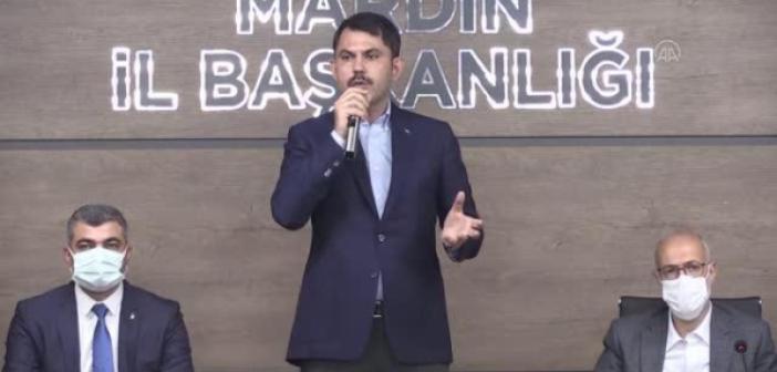 """Kurum; """"Mardin'de 5 millet bahçesi yapıyoruz"""""""