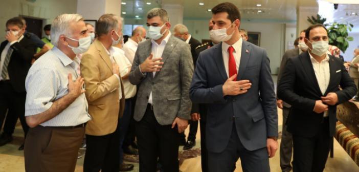 Mardin'de Bayramlaşma Programı Yapıldı