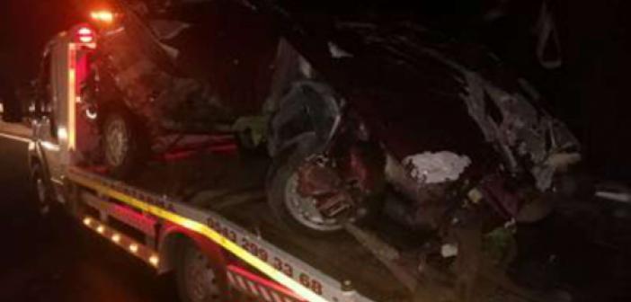 Mardin'de trafik kazası: Biri ağır 2 yaralı