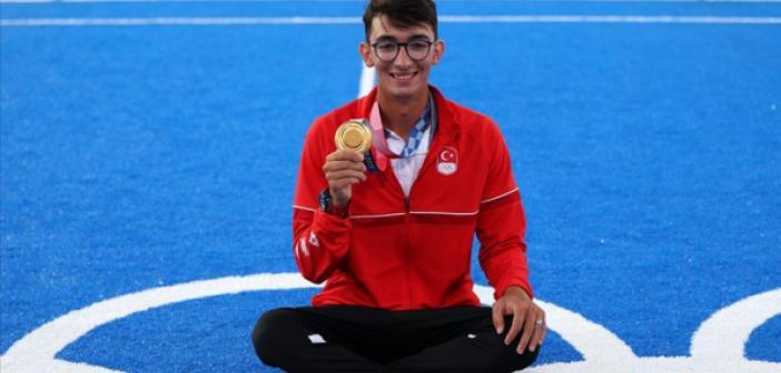 Mete Gazoz, Türk halkına verdiği sözü tutmanın mutluluğunu yaşıyor