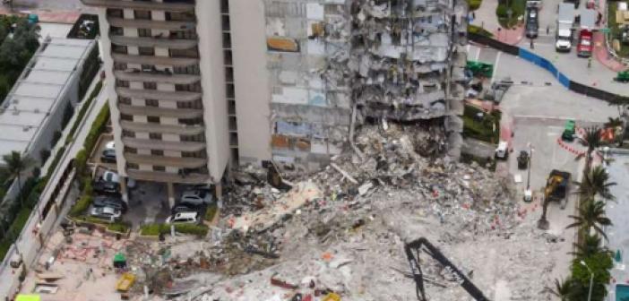 Miami'de çöken binada ölü sayısı 60'a yükseldi