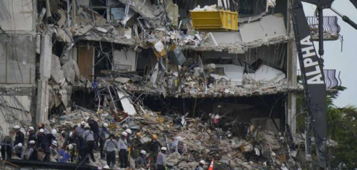 Miami'de çöken binadaki ölü sayısı 32'ye yükseldi