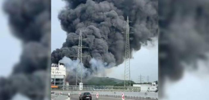 Son Dakika! Almanya'da atık yakma tesisinde patlama! Almanya'da patlama: 5 kişi kayıp!