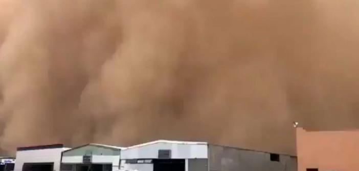 Suudi Arabistan'da kum fırtınası