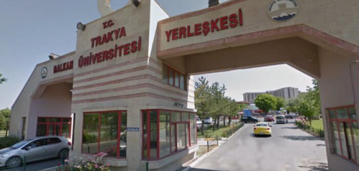 Trakya Üniversitesi (Edirne) 2021 Taban Puanları (Son 4 Yıl) Başarı Sıralamaları