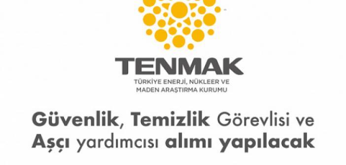 Türkiye Enerji Nükleer ve Maden Araştırma Kurumu (TENMAK) İşçi Alımı Başvuru 2021 - TENMAK İş Başvurusu 2021