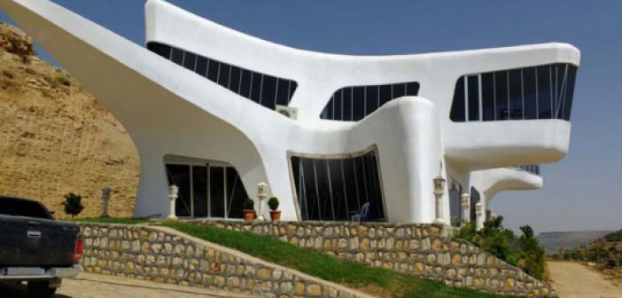 Türkiye'nin en sıradışı evi Mardin'de! İşte Uzayevinin bütün özellikleri