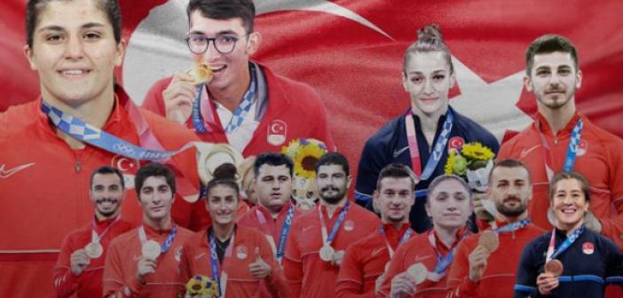 2020 Tokyo Yaz Olimpiyatlarında İlk kez 6 branşta olimpiyat madalyası kazandık | 2020 Tokyo Olimpiyatları