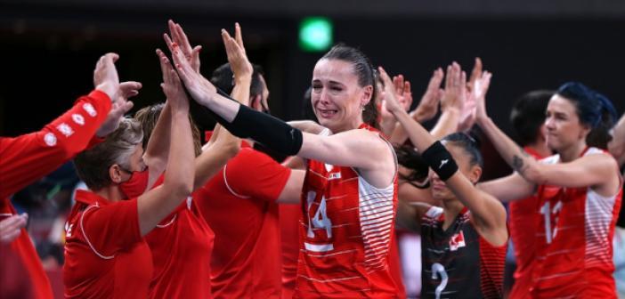A Milli Kadın Voleybol Takımı 2020 Tokyo Olimpiyat Oyunları'na çeyrek finalde veda etti | 2020 Tokyo Olimpiyatları