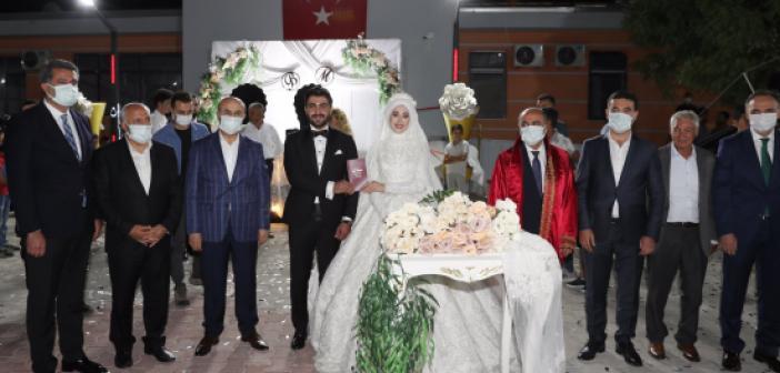 Altındağ ve Okman ailesinin mutlu günü