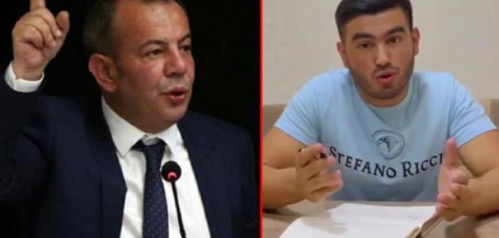 """Bolu Belediye Başkanı Tanju Özcan, kendisine hakaret eden Afgan gazeteci Saadat için """"köpek"""" ifadesini kullandı"""