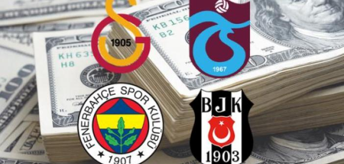 Dört büyükler borç batağında! Dört büyük kulüp batıyor! Borçlar korkunç seviyeye ulaştı!