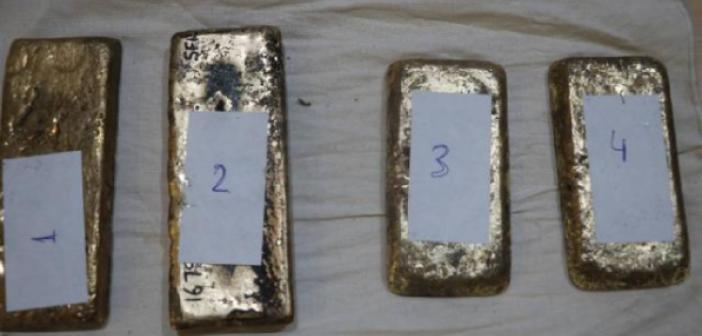 Kapıkule Sınır Kapısı'nda 5 kilogram altın ele geçirildi
