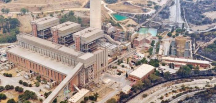 Kemerköy Termik Santrali'nde elektrik üretimi başladı
