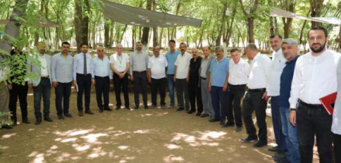 Köy Muhtarları, Mehmet Acu'nun ev sahipliğinde toplandı