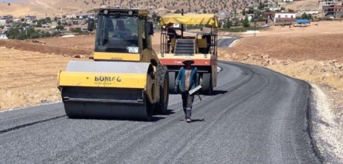 Mardin'de birinci etap yol çalışmaları yüzde 80 tamamlandı