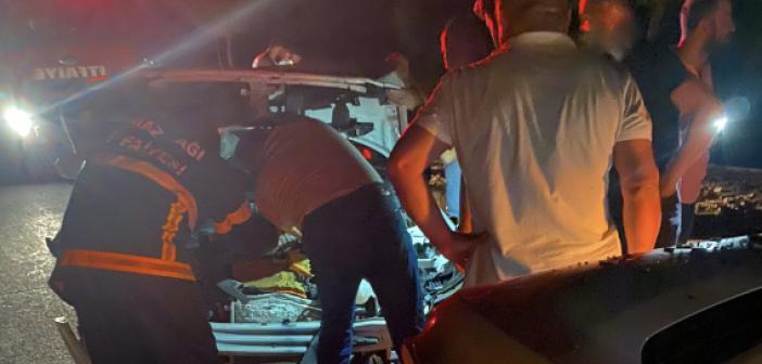 Mardin'de zincirleme trafik kazası: 13 yaralı
