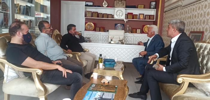 MHP İl Başkanı Bozkuş'tan Gazetecilere Ziyaret