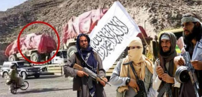 Taliban, ABD'den kalan silahları satılmak üzere Pakistan'a nakletmeye başladı