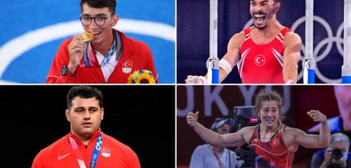 Türk sporcular Tokyo 2020'de ilkleri başarıyor | 2020 Tokyo Olimpiyatları