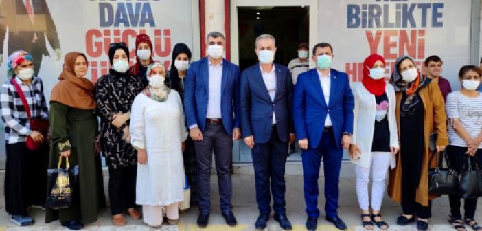 AK Parti Mardin teşkilat çalışmalarına hız verdi