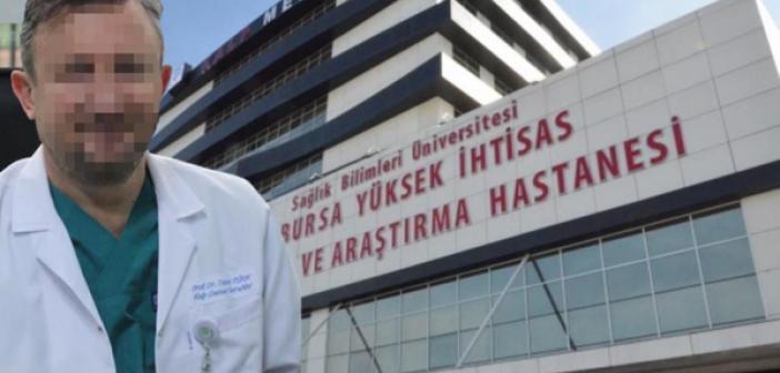 Ameliyat için hastasından 15 bin TL bıçak parası isteyen profesör suçüstü yakalandı