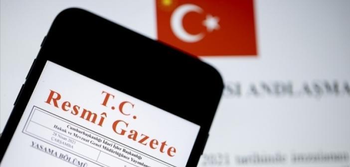 Atama ve yer değişikliği kararları Resmi Gazete'de yayımlandı
