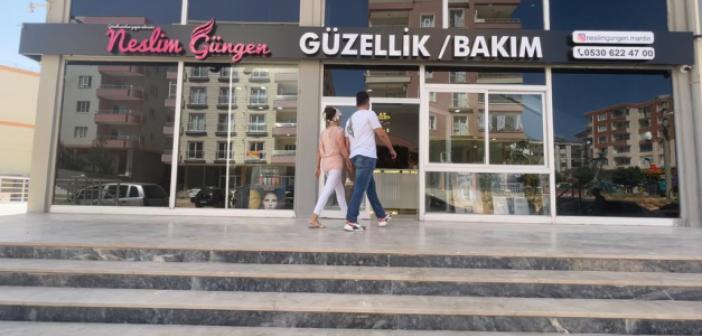 Beş yıldızlı Neslim Güngen Güzellik Merkezi Mardin'de açıldı