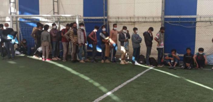 Bitlis'te yılın ilk 8 ayında 4 bin 96 düzensiz göçmen yakalandı